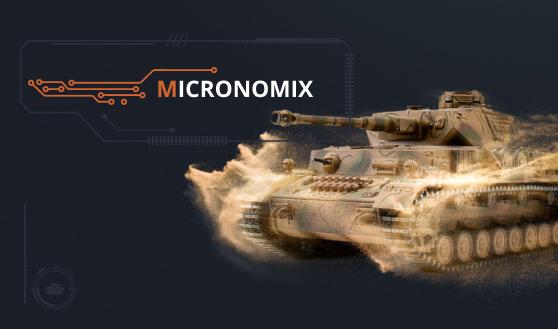 Информационный сайт Micronomix